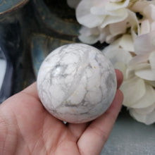 Load image into Gallery viewer, White Howlite Sphere #9