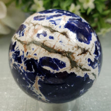 Load image into Gallery viewer, Sodalite Sphere