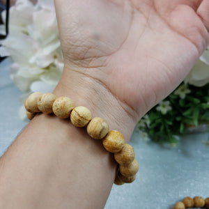 Palo Santo Beaded Bracelet - Choose Size