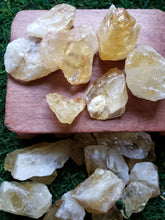 Load image into Gallery viewer, Citrine Raw Chunks