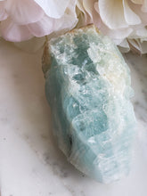 Load image into Gallery viewer, Aquamarine, Natural Freeform Crystal Stone