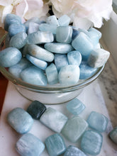 Load image into Gallery viewer, Aquamarine, Tumbled Stones