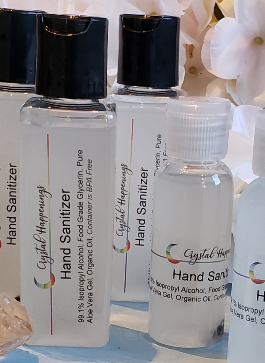 Crystal Infused Hand Sanitizer
