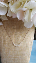 Load image into Gallery viewer, Tiny Herkimer Diamond Necklace