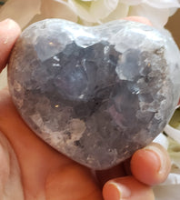 Load image into Gallery viewer, Celestite Heart Specimen, B