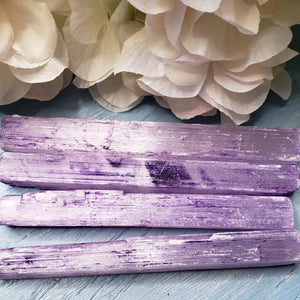 Rainbow Selenite - 5 inch Raw Sticks