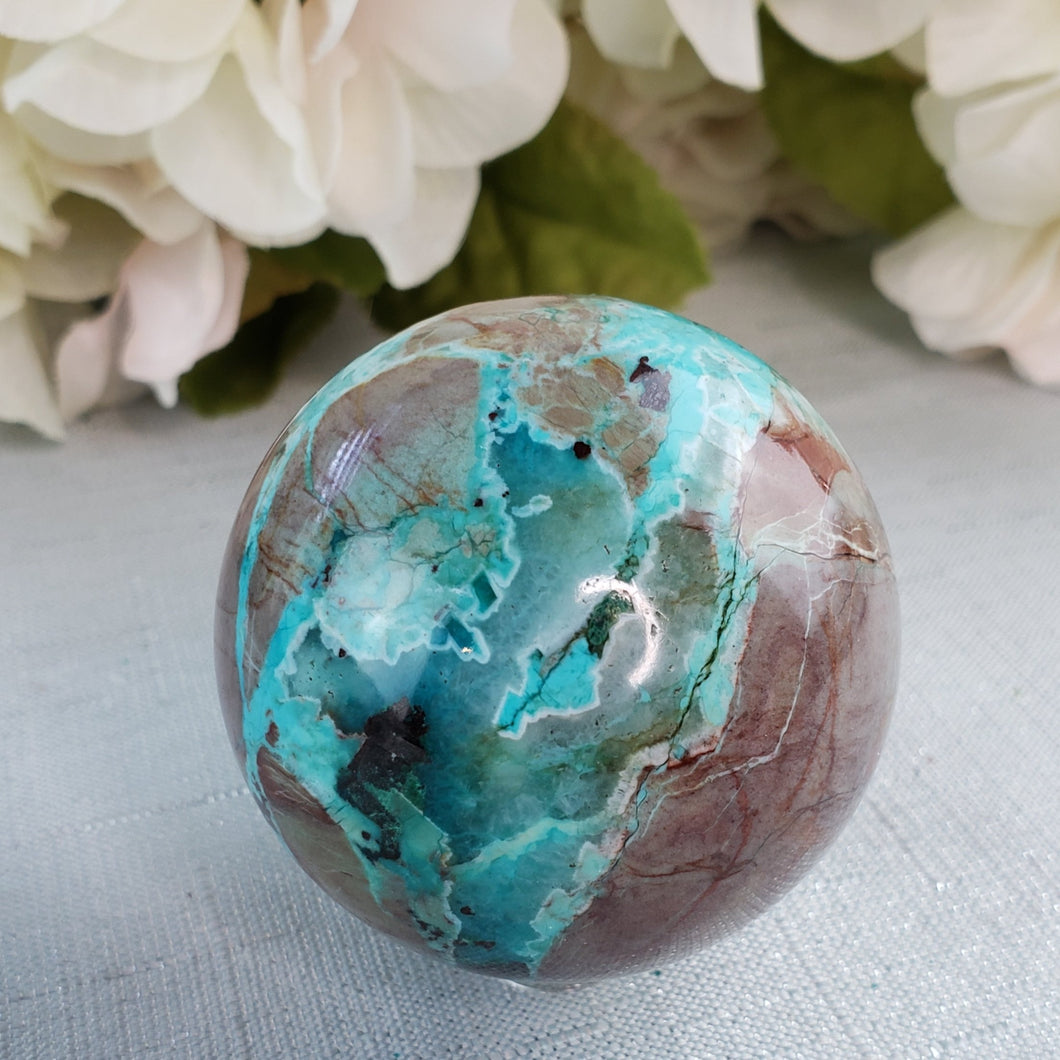 Turquoise 55mm Sphere