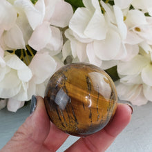Load image into Gallery viewer, Tiger Eye Sphere #2