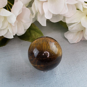 Tiger Eye Small Sphere 30mm