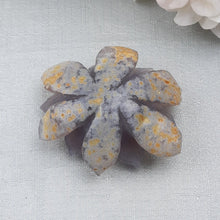 Load image into Gallery viewer, Druzy Agate Lotus #1