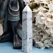 Load image into Gallery viewer, White Howlite Tower #1