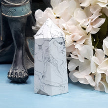Load image into Gallery viewer, White Howlite Tower #4
