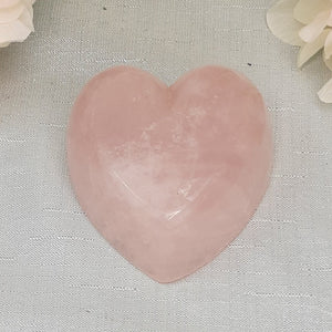 Rose Quartz Heart Bowl #2