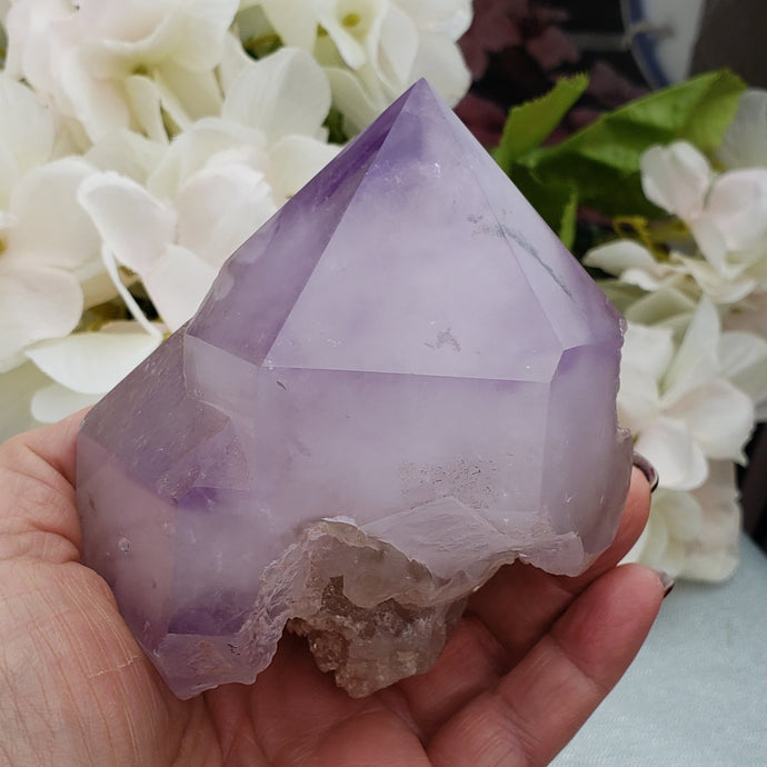 Amethyst Multi Point Elestial Crystal
