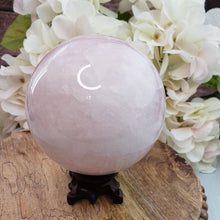 Load image into Gallery viewer, Rose Quartz Sphere - 2.75 lbs