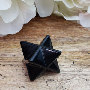 Black Obsidian Small Merkaba
