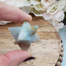 Load image into Gallery viewer, Amazonite Small Merkaba