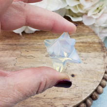 Load image into Gallery viewer, Opalite Small Merkaba