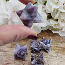 Load image into Gallery viewer, Amethyst Merkaba - XS