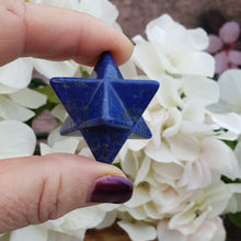 Load image into Gallery viewer, Small Lapis Lazuli Merkaba