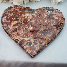 Load image into Gallery viewer, Pink Amethyst Heart - 10 - 14 inches