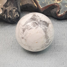 Load image into Gallery viewer, White Howlite Sphere #3