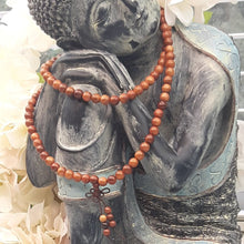 Load image into Gallery viewer, Sandalwood Stretch Mala or Bracelet