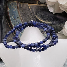 Load image into Gallery viewer, Sodalite 4mm Stretch Bracelet