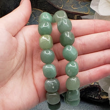 Load image into Gallery viewer, Green Aventurine Nugget Bracelet