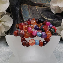 Load image into Gallery viewer, Mixed Agate Colorful Bracelet