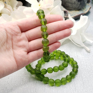 Moldavite Rough Bracelet