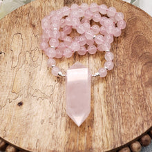 Load image into Gallery viewer, Rose Quartz Necklace - 3