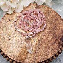 Load image into Gallery viewer, Rose Quartz Necklace - 2