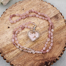 Load image into Gallery viewer, Rose Quartz Necklace - 1