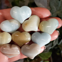 Load image into Gallery viewer, Amazonite - 1 inch Sweet Heart (25mm)