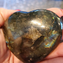 Load image into Gallery viewer, Labradorite Heart #2