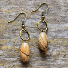 Load image into Gallery viewer, Picture Jasper Earrings
