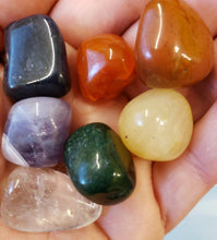 Load image into Gallery viewer, Chakra Stones - small bag