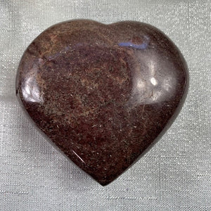 Garnet Polished Heart - 45.3