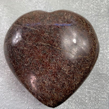 Load image into Gallery viewer, Garnet Polished Heart - 34.3