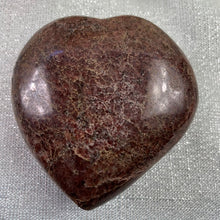 Load image into Gallery viewer, Garnet Polished Heart - 25.2
