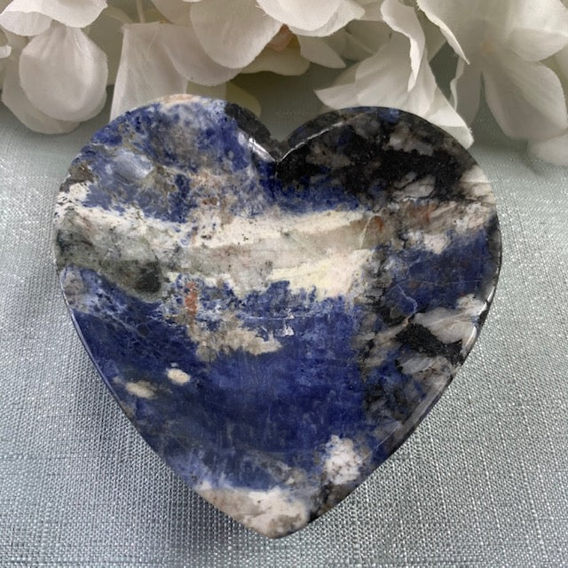 Sodalite Heart Bowl 2