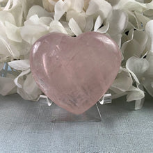 Load image into Gallery viewer, Rose Quartz Crystal Heart 19