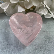 Load image into Gallery viewer, Rose Quartz Heart Bowl 22