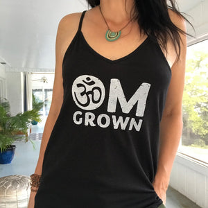 Om Grown Strappy Tank Top