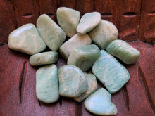 Load image into Gallery viewer, Green Aventurine Tumbled Stones , Large