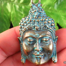 Load image into Gallery viewer, Brass Buddha Earrings