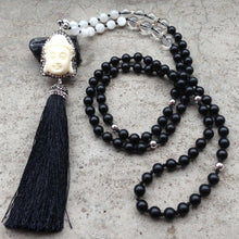 Load image into Gallery viewer, Pave Buddha Head Necklace