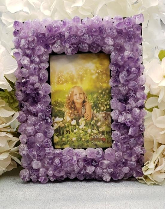 Amethyst Crystal Photo Frames