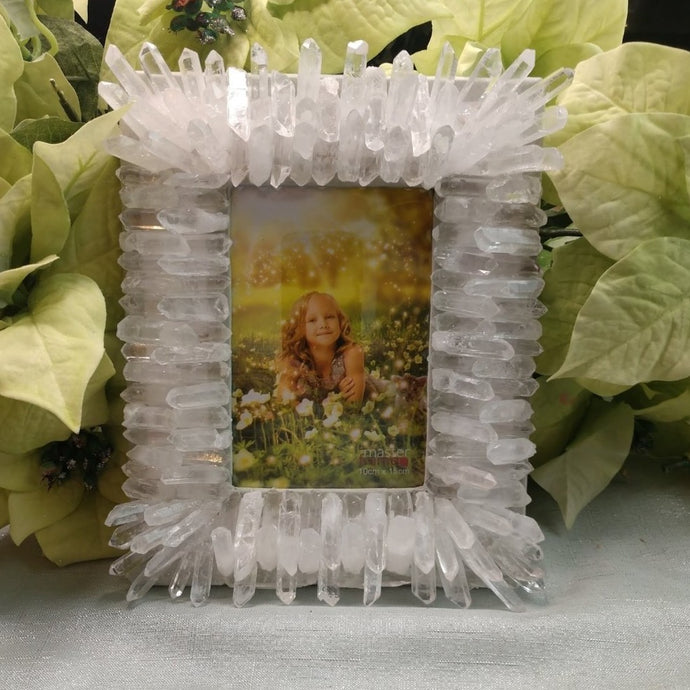 Clear Quartz Picture Frame